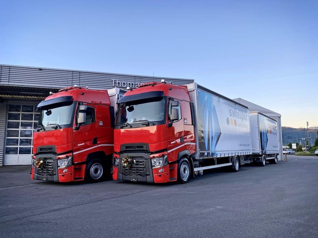 Thomann Nutzfahrzeuge AG und swisspor AG