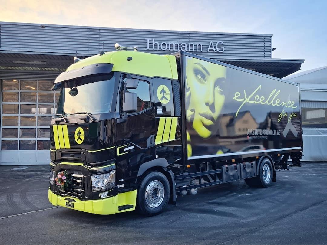Thomann Nutzfahrzeuge AG und Amstutz Produkte AG